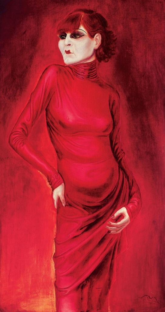 The Dancer Anita Berber by Otto Dix