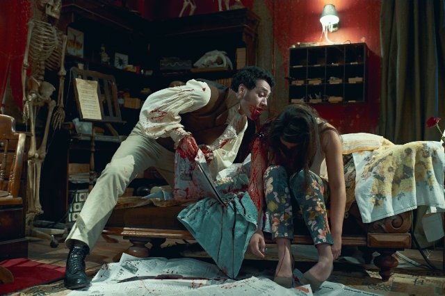 What We Do in the Shadows 2014 still