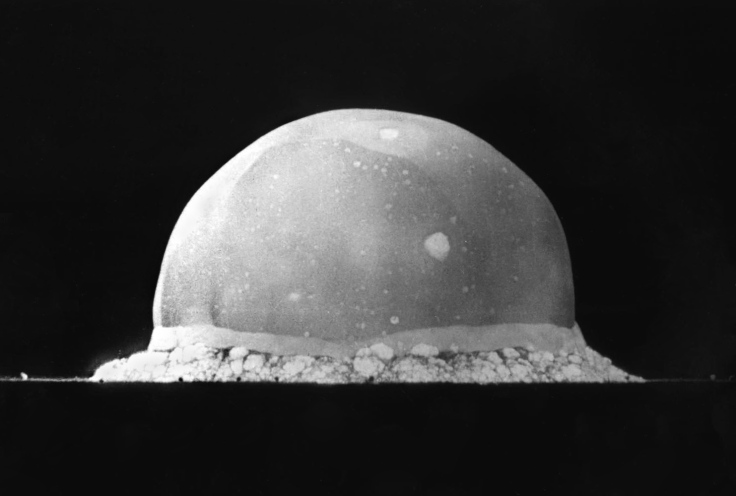 Trinity test fireball 1945