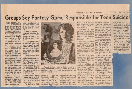 1985 D&D article