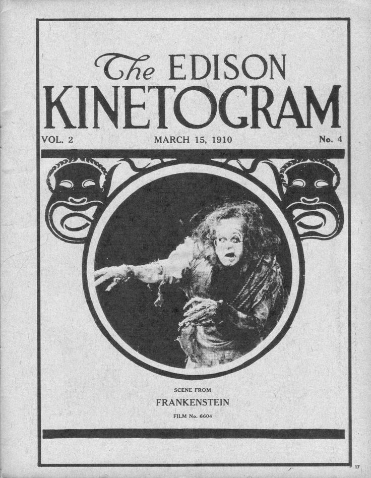 Frankenstein Edison 1910