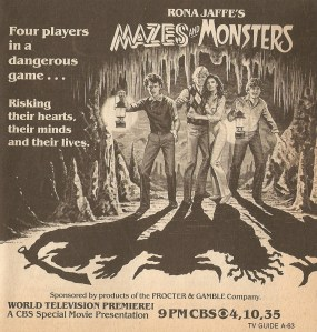 Mazes and Monsters 1982